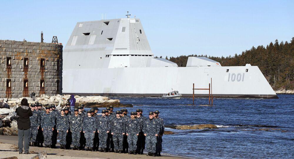 Americký torpédoborec USS Michael Monsoor