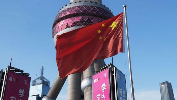Čínská vlajka - Sputnik Česká republika