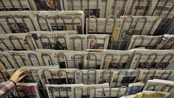 Novinový stánek v Berlíně - Sputnik Česká republika