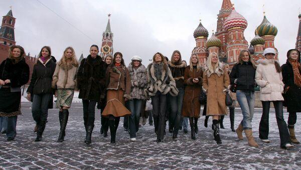 Krása v zimě na Rudém náměstí - Sputnik Česká republika