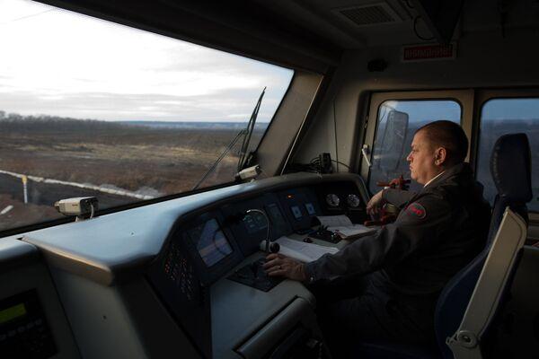 Zahájení železniční dopravy mimo území Ukrajiny - Sputnik Česká republika