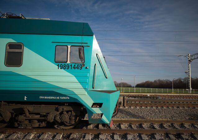 Lokomotiva. Ilustrační foto.