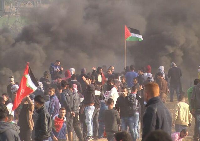 Napjaté ovzduší: Nepokoje v Palestině pokračují