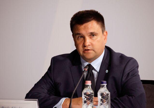 Ukrajinský ministr zahraničních věcí Pavlo Klimkin
