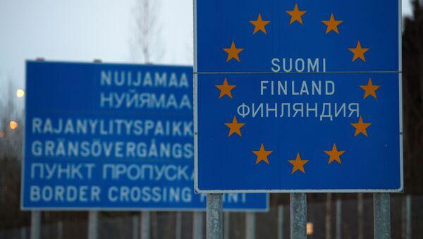 Rusko-finská hranice - Sputnik Česká republika