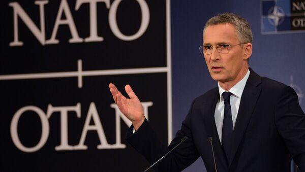 Генеральный секретарь НАТО Йенс Столтенберг - Sputnik Česká republika