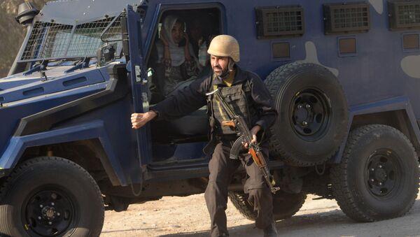 Pákistánský policista. Ilustrační foto - Sputnik Česká republika