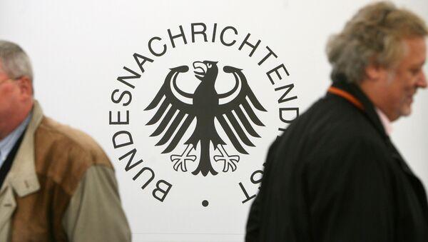 Federální výzvědná služba Německa (BND) - Logo - Sputnik Česká republika