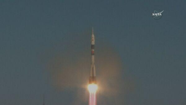 Start rakety Sojuz-FG - Sputnik Česká republika