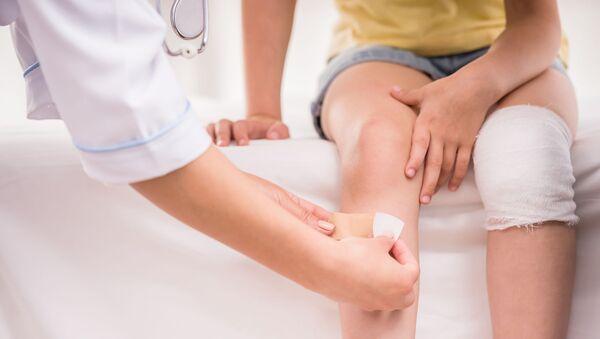 Dítě u lékaře. Ilustrační foto - Sputnik Česká republika