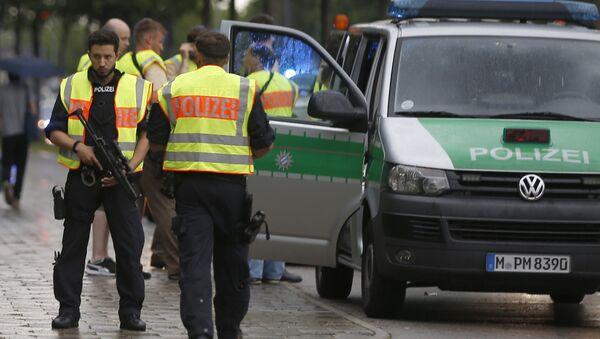 Německá policie. Archivní foto - Sputnik Česká republika
