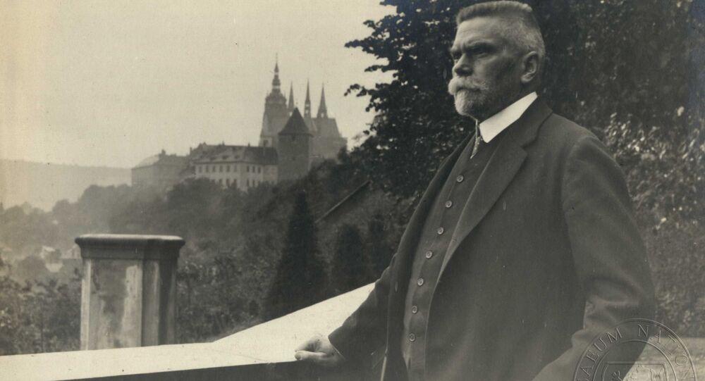 Český politik Karel Kramář