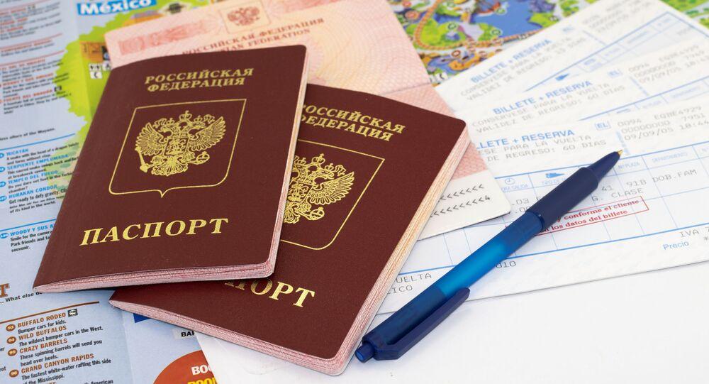 Ruský cestovní pas