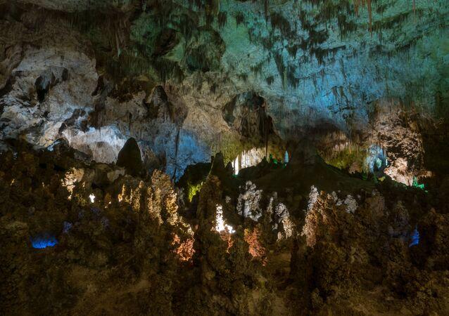 Carlsbadské jeskyně jeskyně v Mexiku. Ilustrační foto