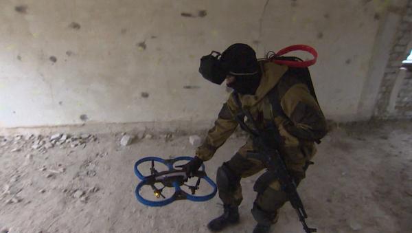 V Rusku vyzkoušeli nový dron řízený očním pohybem - Sputnik Česká republika