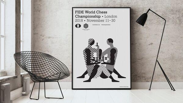 Logo mistrovství světa v šachu 2018 - Sputnik Česká republika