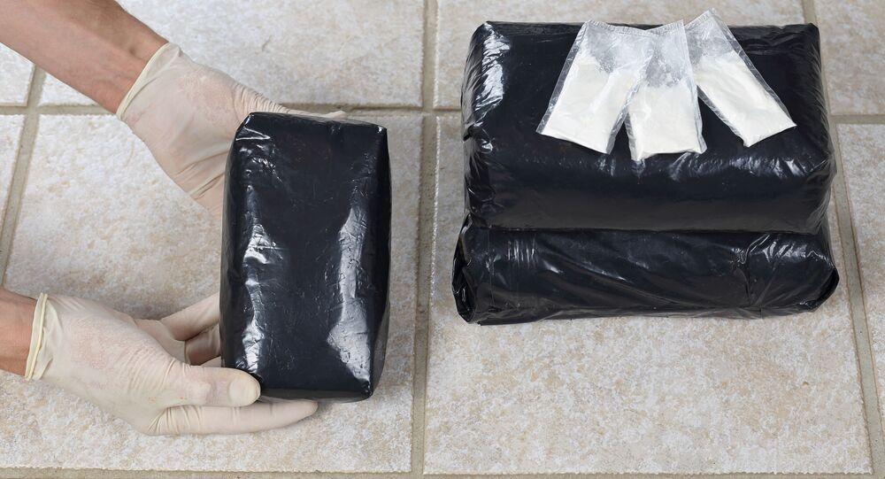 Zabalený kokain