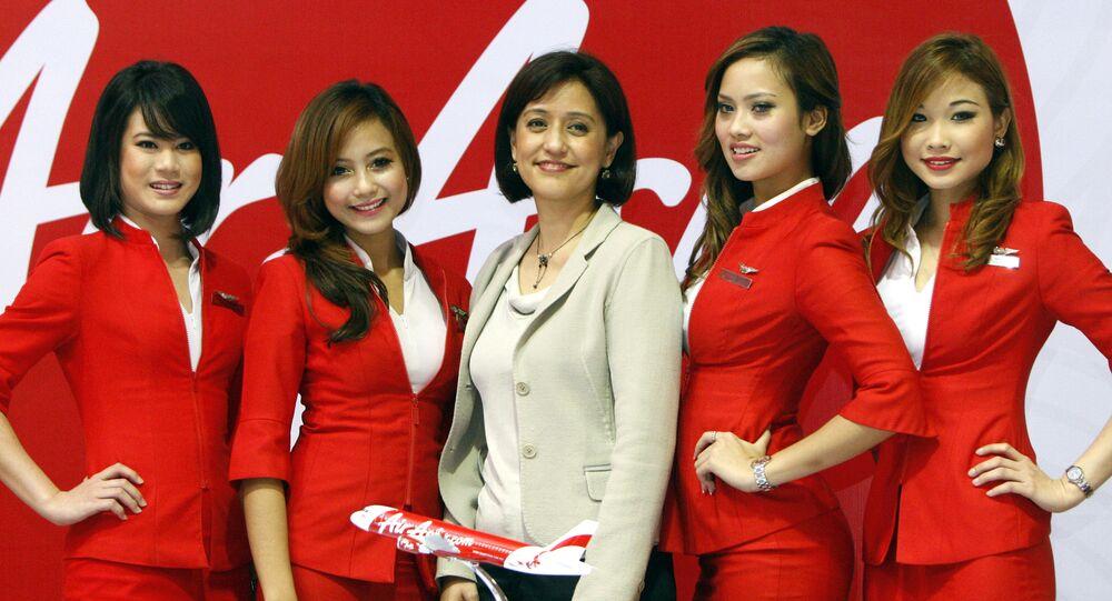 Letušky aerolinek AirAsia