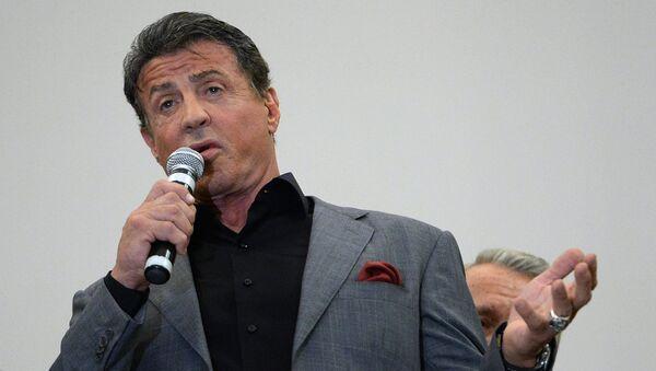 Americký herec Sylvester Stallone - Sputnik Česká republika