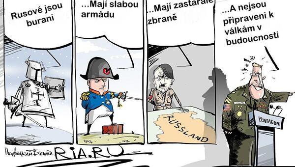 Valky s Ruskem - Sputnik Česká republika