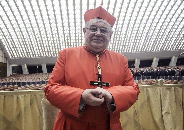 Český kardinál Dominik Duka