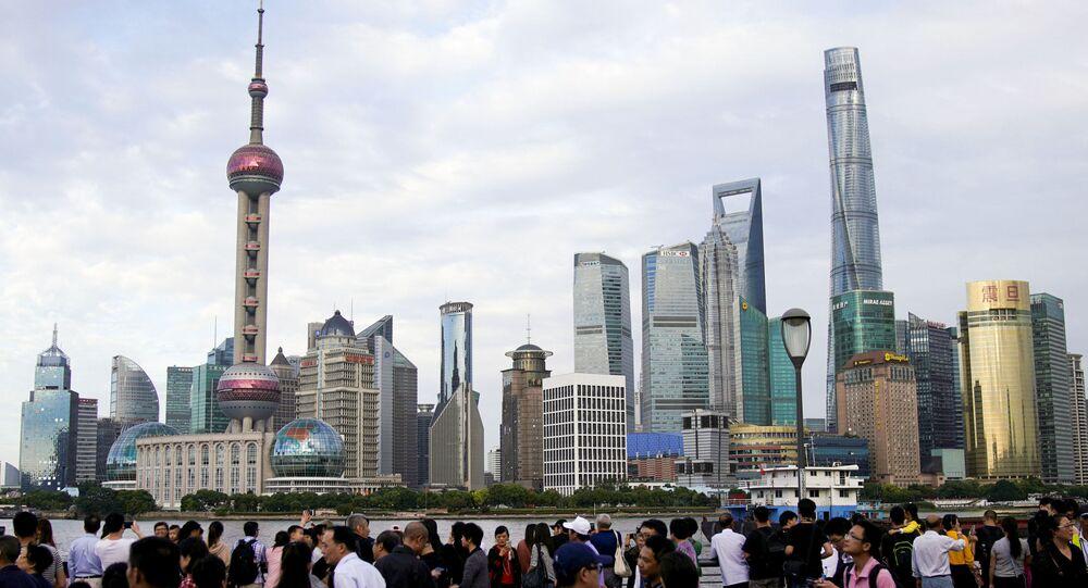 Turisté v Šanghaji