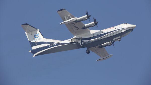 Největší na světě obojživelné letadlo AG600 - Sputnik Česká republika