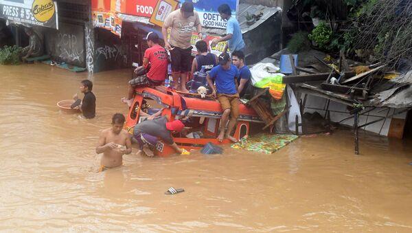 Povodně na Filipínách - Sputnik Česká republika