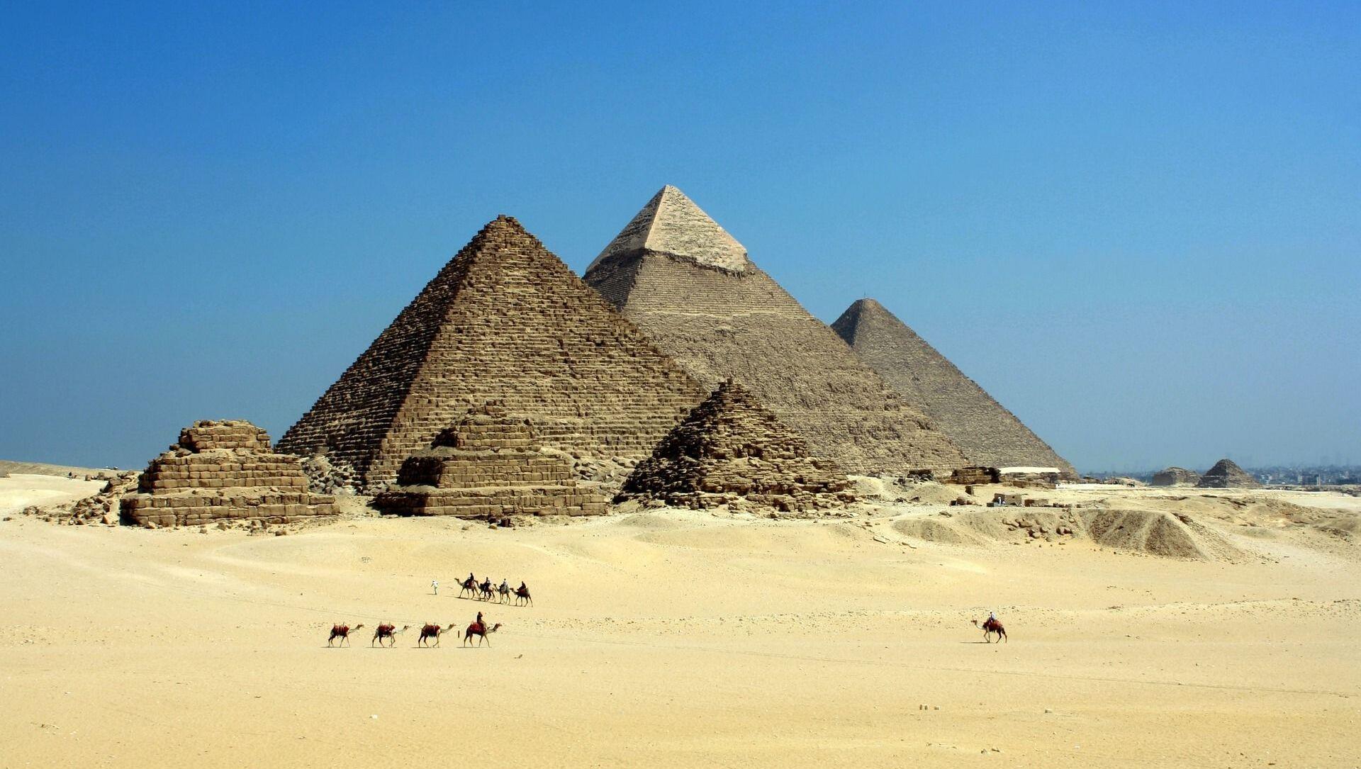 Pyramidy. Egypt - Sputnik Česká republika, 1920, 14.02.2021