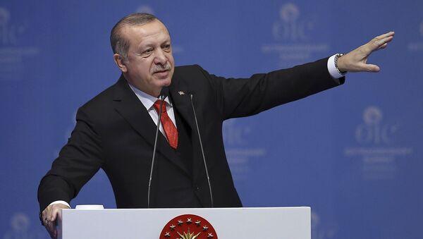 Turecký prezidet Recep Erdogan - Sputnik Česká republika
