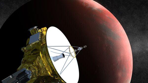 NASA New Horizon ilustrace - Sputnik Česká republika