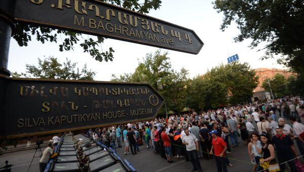 Události v Arménii - Sputnik Česká republika