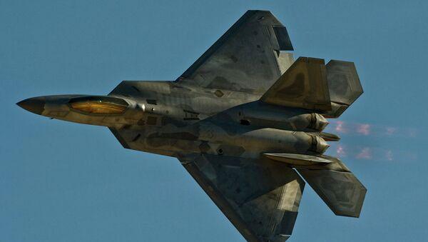 Stíhačka F-22 Raptor - Sputnik Česká republika
