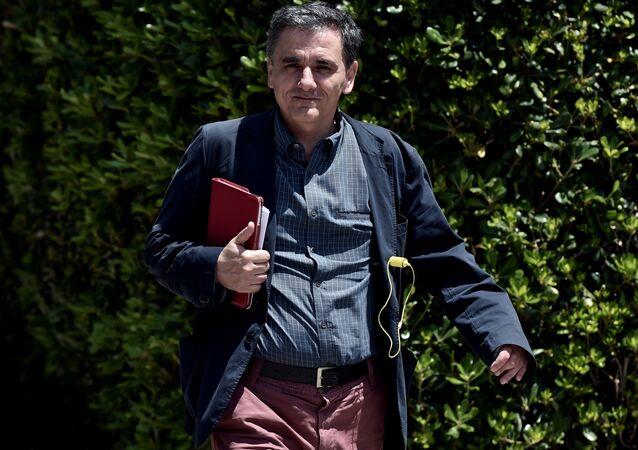 Řecký ministr financí Euclidis Tsakalotos