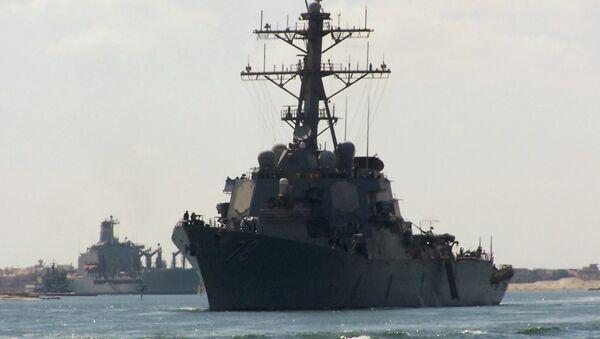 Americká vojenská loď Porter - Sputnik Česká republika