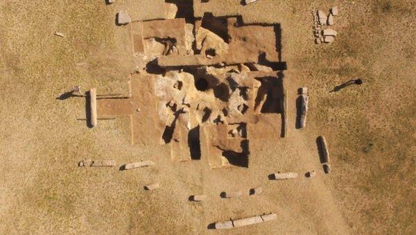 Starobylý sarkofág nalezený v Mongolsku - Sputnik Česká republika