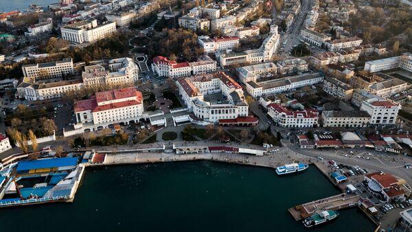 Pohled na Sevastopol - Sputnik Česká republika