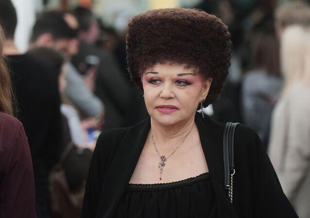 Senátorka za Chakasii a předsedkyně hnutí Matky Ruska Valentina Petrenková