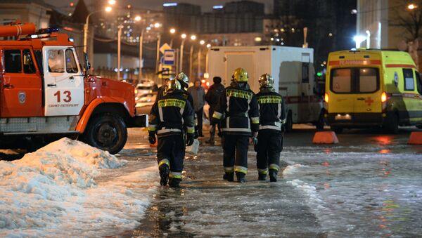 Po explozi v Petrohradu - Sputnik Česká republika