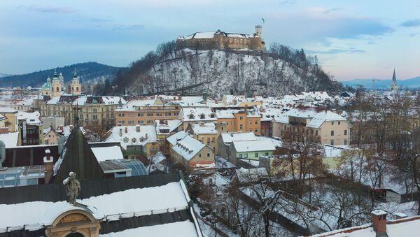 Lublaň, Slovinsko. Ilustrační foto - Sputnik Česká republika