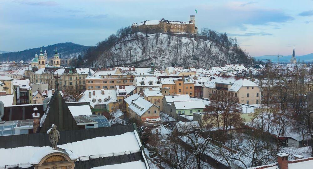 Lublaň, Slovinsko. Ilustrační foto