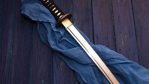Samurajský meč - Sputnik Česká republika