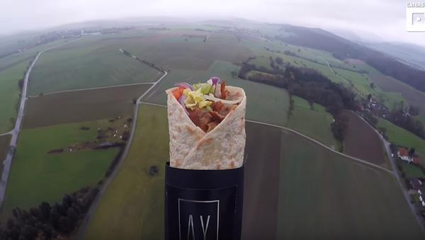 Kebab letí do stratosféry - Sputnik Česká republika