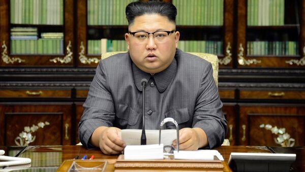 Vůdce KLDR Kim Čong-un - Sputnik Česká republika