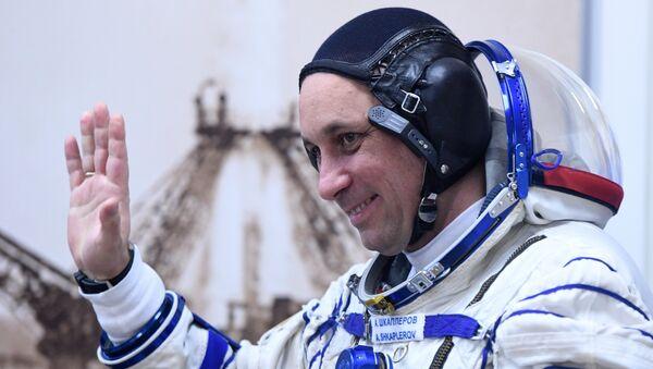 Ruský kosmonaut Anton Škaplerov - Sputnik Česká republika