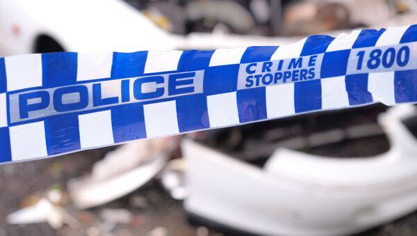 Páska na místě zločinu v Austrálii. Ilustrační foto - Sputnik Česká republika