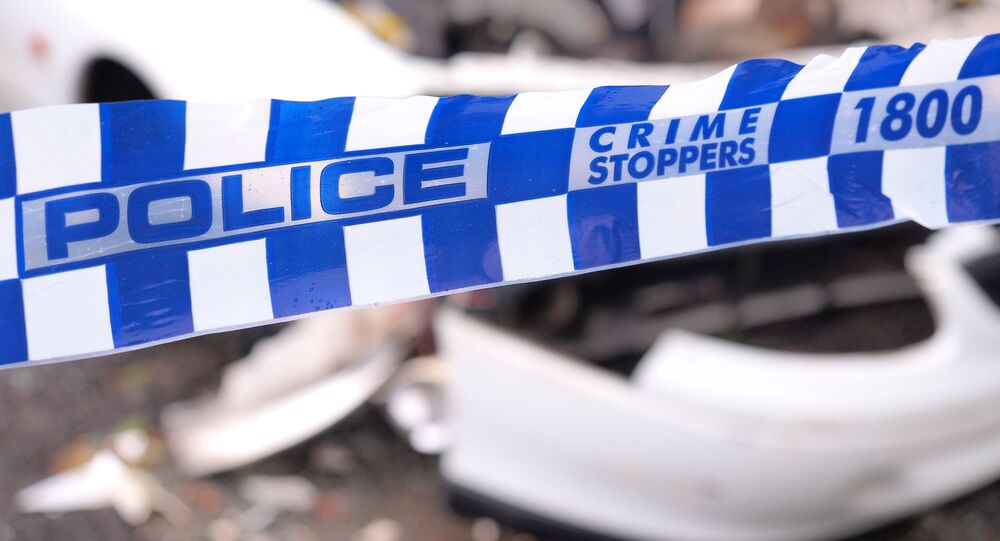 Páska na místě zločinu v Austrálii. Ilustrační foto