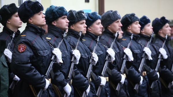 Ruská garda - Sputnik Česká republika