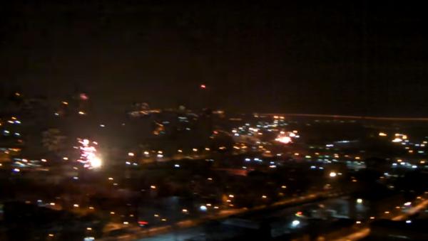 Chvíle, kdy se Vladivostok ponořil do tmy, se dostala na video - Sputnik Česká republika