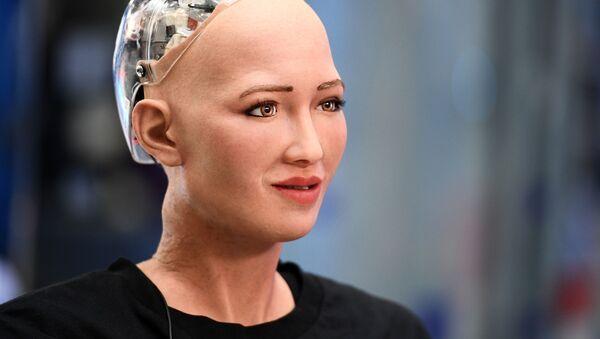 Robot Sofia - Sputnik Česká republika